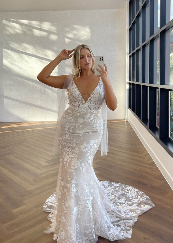 Elsie Fitted Made With Love Bridal